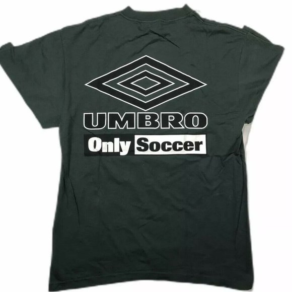Vintage Umbro Only Soccer T Shirt Mens